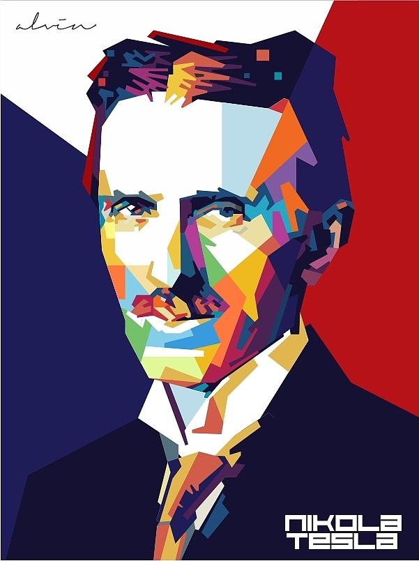设计色彩人物头像