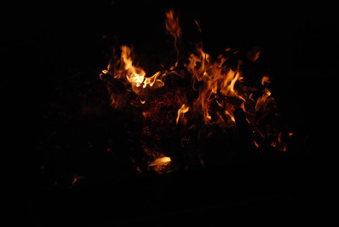 利用图层样式及火焰素材制作超酷的火焰字