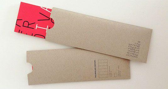 25个国外创意信封设计欣赏(2)