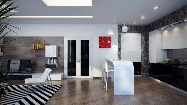 Pavel Vetrov室内装修效果图欣赏