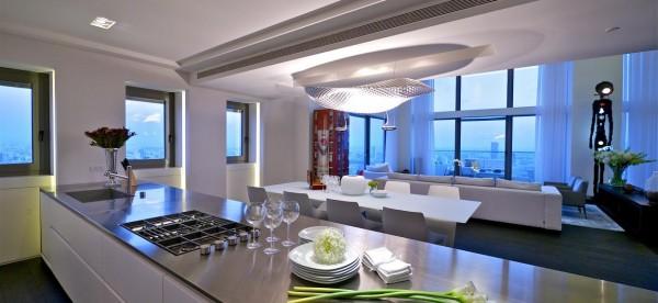 以色列顶层复式三层豪宅欣赏