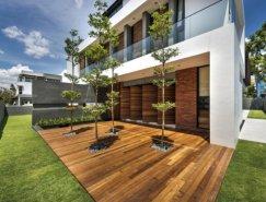 新加坡Mimosa Road现代别墅设计