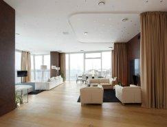 莫斯科现代优雅的豪华公寓设计