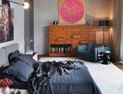 巴西现代简约的卧室设计