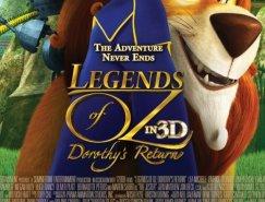 电影海报欣赏:奥兹国的桃乐西(Legends of Oz: Dor
