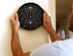 Studio Ve透视系列创意时钟设计