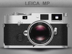 徕卡相机PSD素材