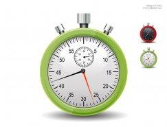 秒表PSD素材
