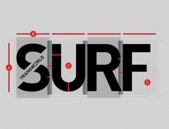 沖浪雜志Surf品牌形象設計
