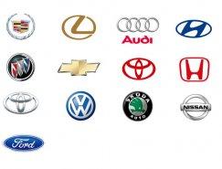 14款汽车品牌矢量标志