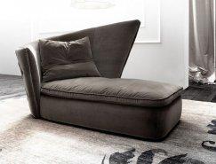 Giorgio Soressi:优雅舒ω适的沙发软垫床