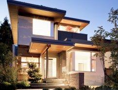 北欧设计风格的加拿大现代别墅欣赏(2)图片