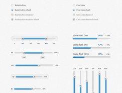 网页UI设计元素PSD素材