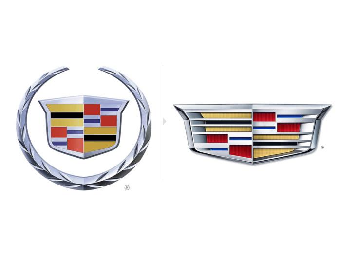凯迪拉克发布新车标图片