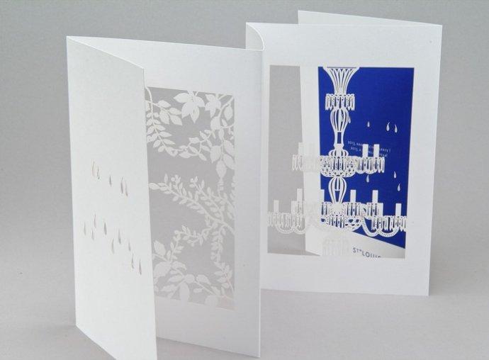 圣诞和新年创意贺卡设计