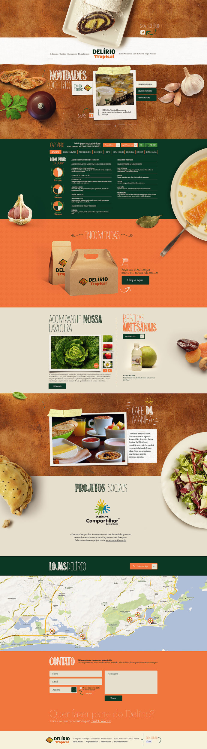 Delírio食品包装欣赏