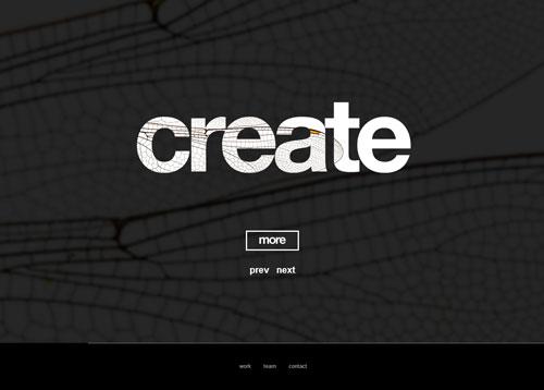20个国外单页面网站设计