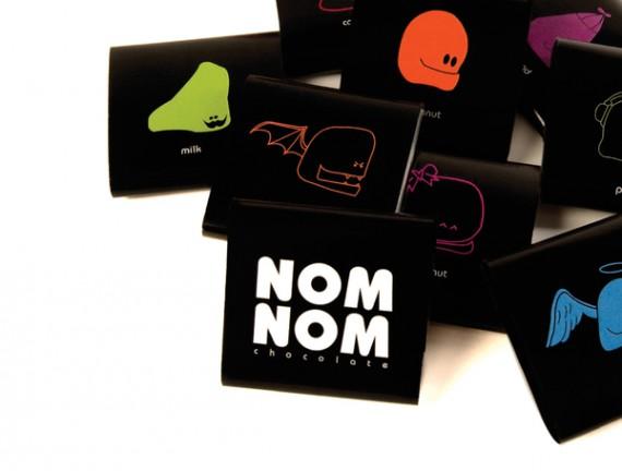 25个国外创意巧克力包装设计