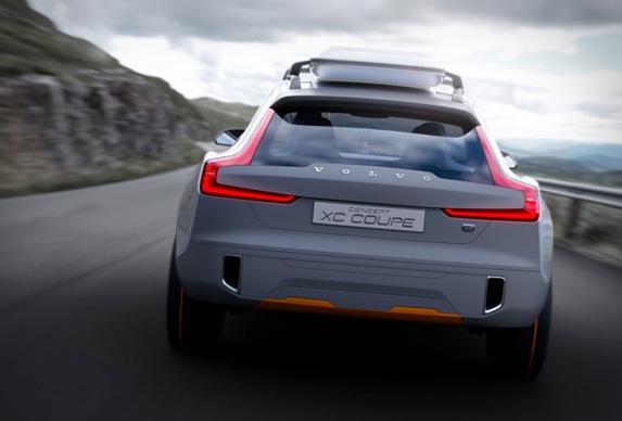 沃尔沃XC Coupe概念车
