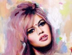 Charmaine Olivia肖像画作品欣赏