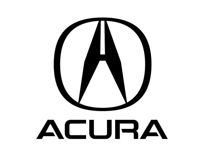 ACURA讴歌汽车标志矢量图高清图片