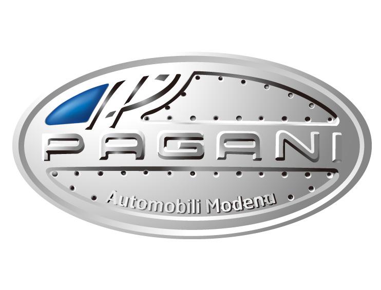 pagani帕加尼汽车标志矢量图