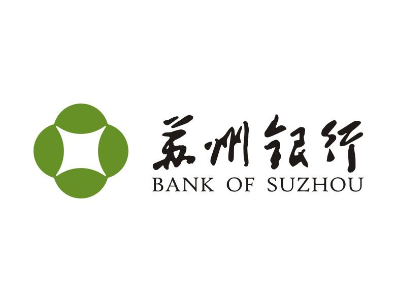 苏州银行标志矢量图