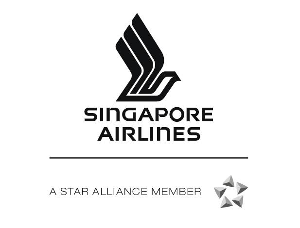 新加坡航空公司标志矢量图