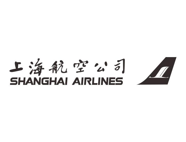 上海航空公司标志矢量图