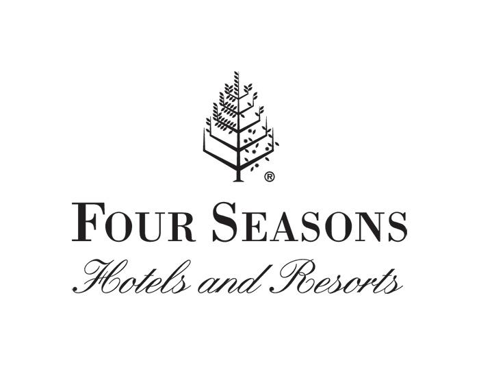 四季酒店标志矢量图