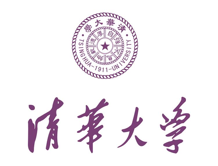 大学校徽系列:清华大学标志矢量图