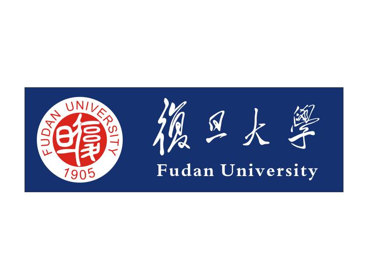 大学校徽系列 上海复旦大学标志矢量图图片