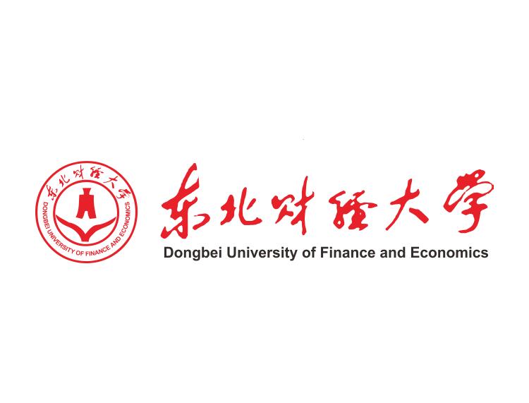 大学校徽系列:东北财经大学标志矢量图