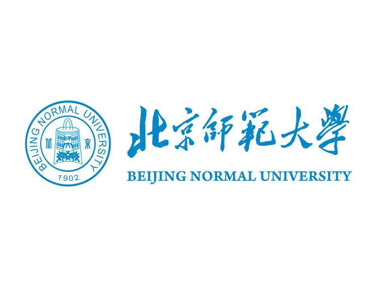大学校徽系列 北京师范大学标志矢量图图片