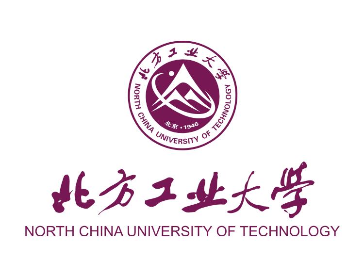 大学校徽系列 北方工业大学标志矢量图图片