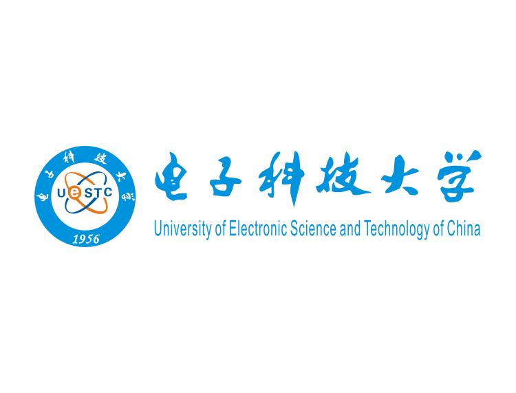 大学校徽系列:电子科技大学标志矢量图