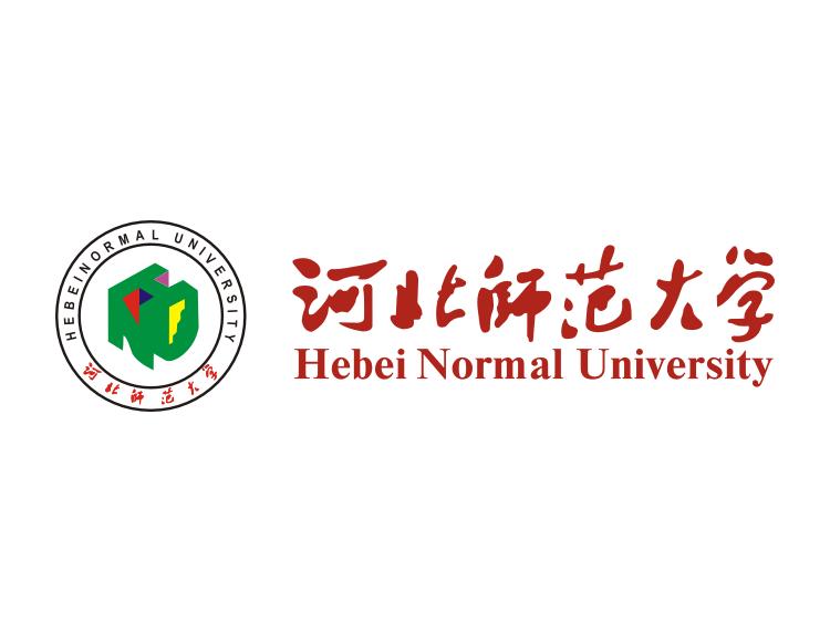大学校徽系列:河北师范大学标志矢量图