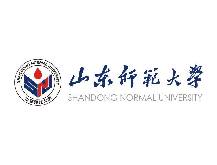 大学校徽系列:山东师范大学标志矢量图
