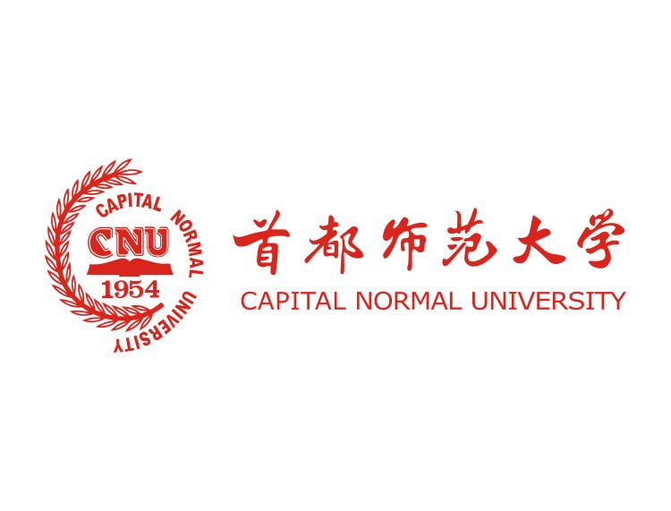 大学校徽系列 首都师范大学标志矢量图图片