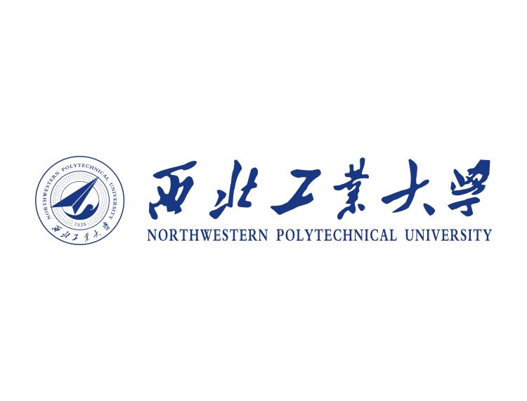 大学校徽系列 西北工业大学标志矢量图图片