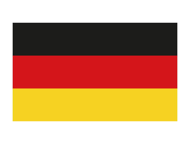 德国国旗矢量图