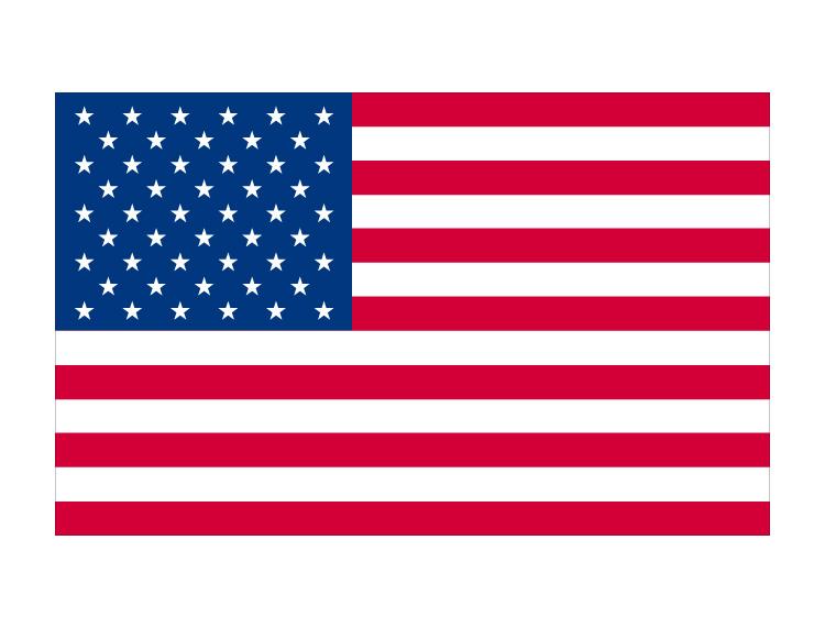 美国国旗矢量图
