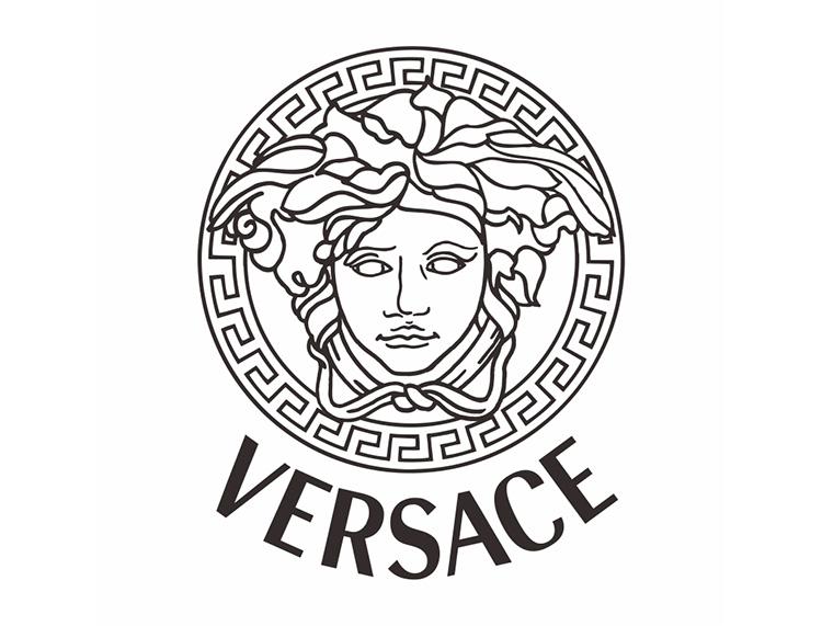 Versace范思哲标志矢量图 - 设计之家