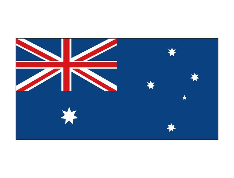 澳大利亚国旗矢量图