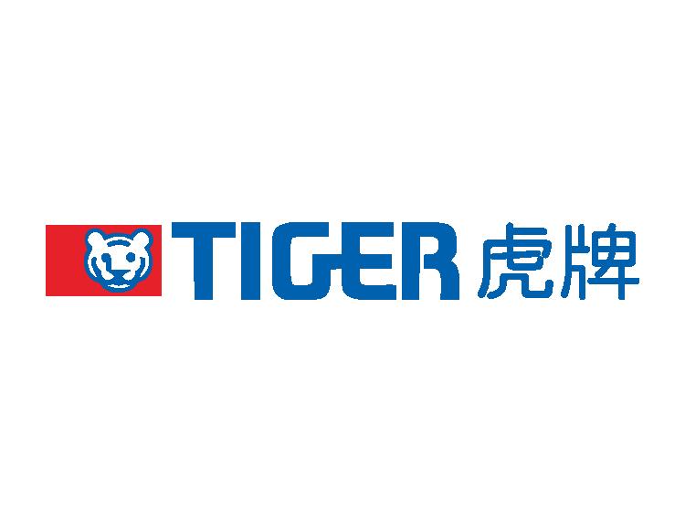 虎牌(tiger)标志矢量图