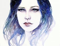 Moi Tea Spears肖像插画欣赏