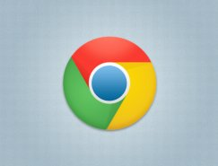 chrome瀏覽器標志PSD素材
