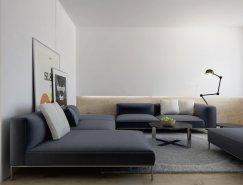 基辅Lipki现代极简风格公寓