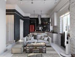 4个温馨精致的公寓设计欣赏