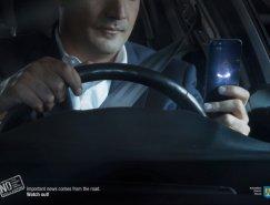 布加勒斯特交警广告:开车请勿